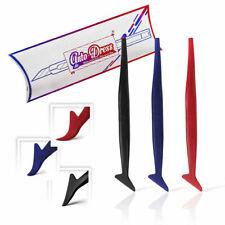 3x Micro-Rakel Set,Härte-grade:Soft,Medium & Hart. Car-wrapping Auto-Folien Tool