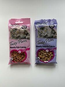 Catnip Meaty or Fish Catnip Tasty Cat Treats Drools Tasty Purrs For All Cats