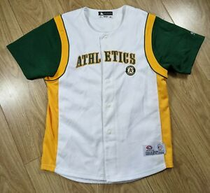 MLB Oakland Athletics A's Baseball Jersey True Fan Youth Large, See Measurements