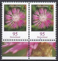 3470 postfrisch Paar waagerecht Rand unten BRD Bund Deutschland Briefmarke 2019
