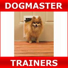 PETSAFE 600ML ALUMINIUM PET DOOR, DOG DOOR, CAT FLAP - Small