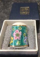 Beautiful Japanese Nimura Thimble Plus Bix