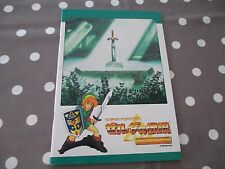 >> ZELDA III 3 LINK TO THE PAST SUPER FAMICOM NOTE PAD BOOK CAHIER! <<