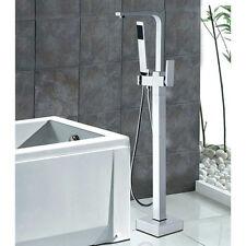 LightInTheBox Solid Brass Modern Floor Standing Tub Shower Faucet w/ Hand Shower