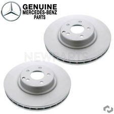 For Mercedes-Benz W204 W219 GLK350 Set of 2 Front Brake Discs Vented Genuine
