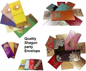 LUXURY FANCY ENVELOPE GIFT WEDDING MONEY MARRIAGE OCCASIONS WALLET VARIOUS COLOR