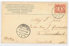 169a-BOATS & SHIPS -NETHERLANDS-SAILBOAT (1907)(Undivided Back (c. 1901-1907)