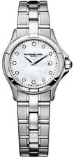 Raymond Weil Parsifal MOP Diamond Dial Stainless Steel Watch 9460-ST-97081