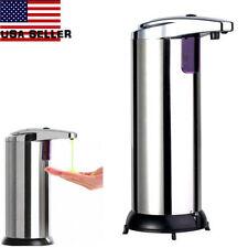 Stainless Steel Handsfree Automatic IR Sensor Touchless Soap Liquid Dispenser UB