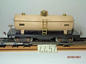 Lionel Railroad Train Model Pre-War 515  Tanker Car Tank,Standard Gauge