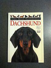 Dachshund by Bruce Fogle, DVM Dog Breed Handbooks Paperback 1999