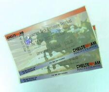 Horse Racing Memorabilia - Cheltenham Festival Tickets / Stubs Thursday 16/03/00