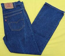 Vintage LEVIS 517 Boot Cut Denim Red Tab Mens Blue Jeans 34(33) X 30 Made in USA