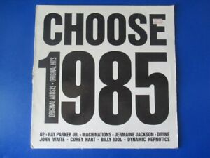 """CHOOSE 1985 - 'Various Artists' 12"""" Vinyl LP Record 1984 with inserts #4"""
