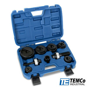"TEMCo TH0390 Manual knockout Punch Kit ½"" to 2"" Electrical Conduit Hole sizes"