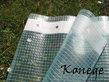 Gewächshausfolie 1,5m breit x 4m Gitterfolie Frühbeetfolie Folie, 260-280g/m²