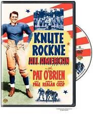 Knute Rockne: All American (DVD) with Pat O'Brien & Ron Reagan /Read Description