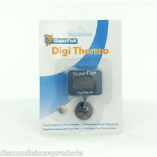 SuperFish Digi Thermo Digital Aquarium Fish Tank Thermometer inc. Battery