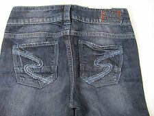 Silver Jeans Keri  Trousers Hose Denim Jeans Pantalone Blau Neu 25