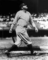 New York Yankees BABE RUTH Swinging the Bat Glossy 16x20 Photo Baseball Poster