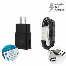 Adaptive Fast Rapid Wall Charger Type C Cable for Samsung Galaxy S9 S9+ Plus S8