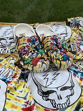 Brand New Grateful Dead Chinatown Market Crocs Size(s) 6,7,8,9,13