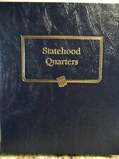 1999-2008 Washington Statehood Quarter Coin Collection 5pg Whitman 9176 Album