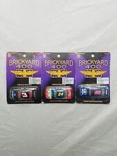 1997 Brickyard 400 Earnhardt #3 & Gordon #24 & Jarrett #88 Action 1/64 Lot of 3
