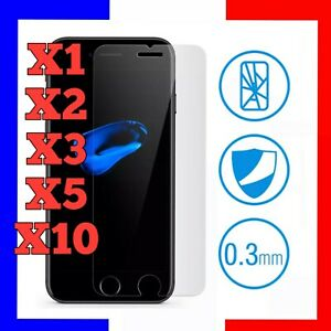 VERRE TREMPE IPHONE VITRE PROTECTION ECRAN 11 12 PRO MAX SE 2020 6 7 8+ XS XR