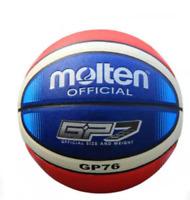 Molten GP76 #7 PU In/Outdoor Men's Basketball w/Bag & Pin Standard Training Ball