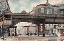 1909 Stores Junction of Wendover & 3rd Aves. Bronx NY post card Tuck