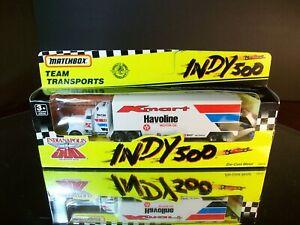 Mario Andretti #6 K-Mart Indy 500 1991 Racing Team Transporter Matchbox