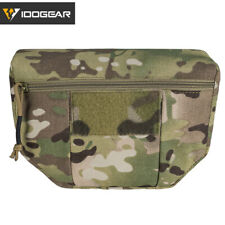 IDOGEAR Tactical Armor Carrier EDC Drop Pouch AVS JPC CPC Pouch Hunting Military