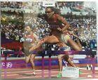 Lolo Jones Signed 16X20 Poster Autographed  COA Leaf  USA Olympics Hurdles