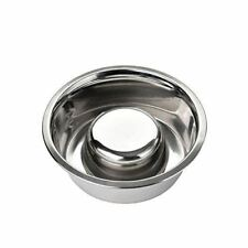 Slow Feed Bowl by Neater Pet Brands - Stainless Steel - Fits Neater Feeder Lg