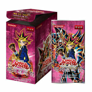 """Yugioh Cards """"Magician's Force"""" MFC-KR Booster Box 40 Pack / Korean Ver"""