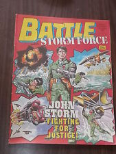 BATTLE WITH STORMFORCE OCTOBER 10 1987 BRITISH WEEKLY COMIC^