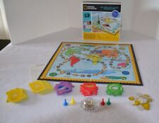 Geo Bee Challenge Board Game National Geographic 2003