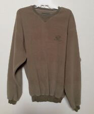 SUN MOUNTAIN SPORTS MEN'S GOLF / CAMPING PULLOVER FLEECE SWEATSHIRT - L  (2561)