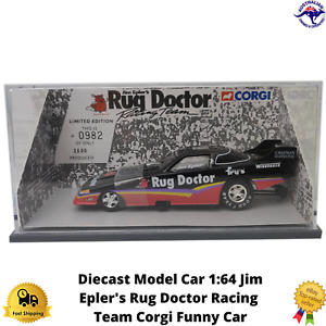 Diecast Model Car 1:64 38201 Jim Epler's Rug Doctor Racing Team Corgi Funny