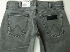 Wrangler GREENSBORO Jeans Bleached Black Stretch Regular Fit W32 L32