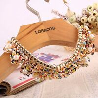 Gift For Women/Girl Sequin Detachable Collar False Collar Necklace Pearl Choker