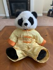 "Build A Bear Shaggy Panda Plush 15"" w/ karate uniform Kung Fu Japanese"
