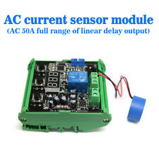 AC 0-50A AC Current Sensor To Detect the Full Range of Linear Output Delay
