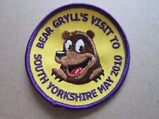South Yorkshire 2010 Cloth Patch Badge Boy Scouts Scouting L3K D
