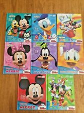 MY FIRST SMART PAD DISNEY JUNIOR MICKEY MOUSE CLUBHOUSE BOOKS - 8 BOOKS