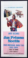 CINEMA-locandina JUS PRIMAE NOCTIS l. buzzanca, r. montagnani,p.stoppa,CAMPANILE