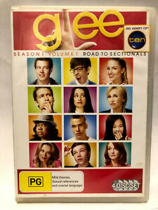 GLEE, SEASON 1 VOLUME 1 ROAD TO SECTIONALS.. DVD