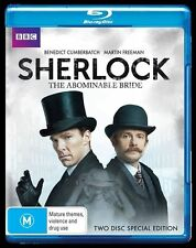 The Sherlock Holmes -  Abominable Bride (Blu-ray, 2016, 2-Disc Set)  New, D47