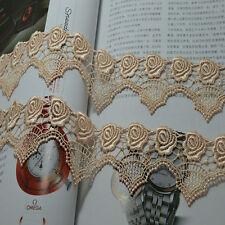 2yds/lot 5.5cm complexion hollow soluble Lace Trim DIY lace accessories fabrics